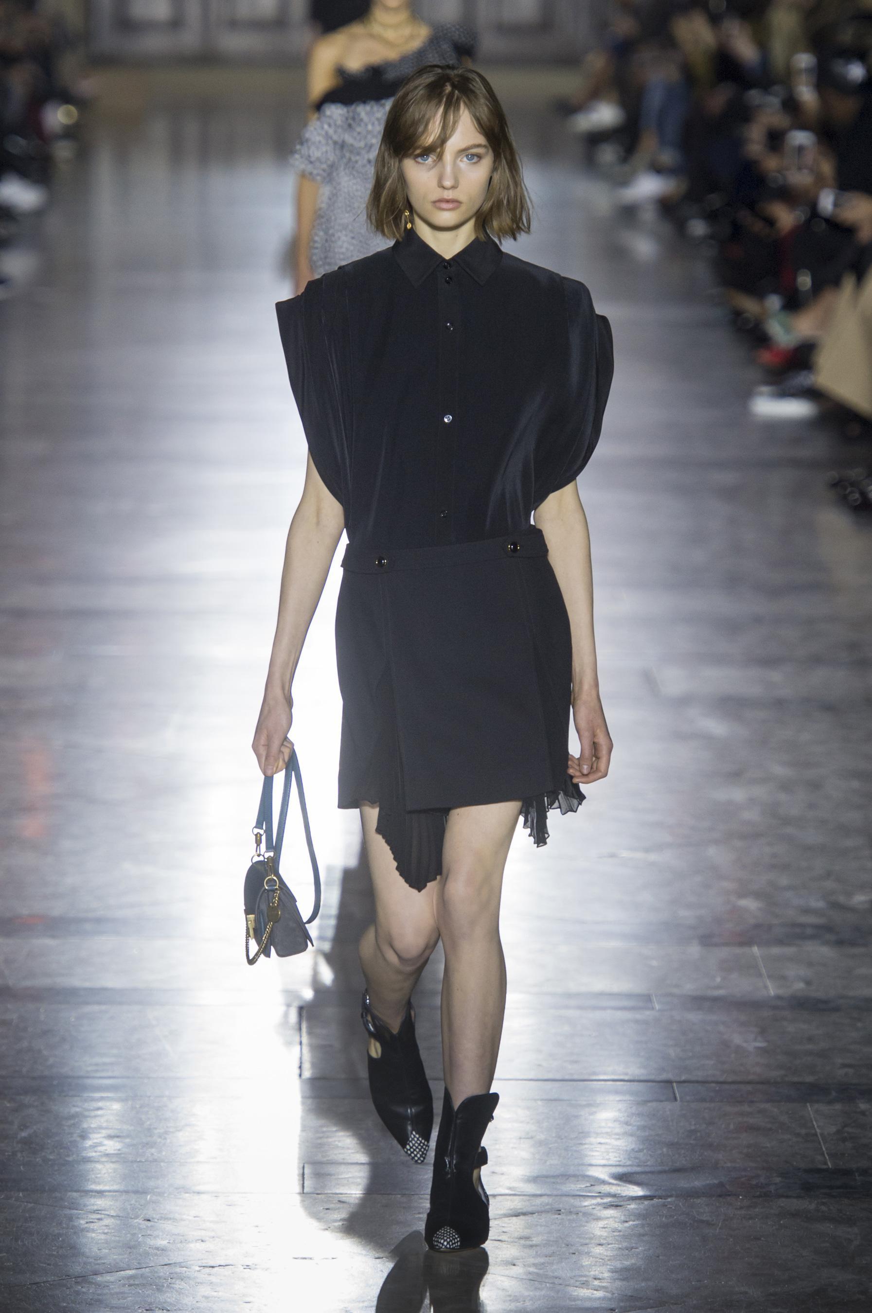 Givenchy весна лето 2018 юбка