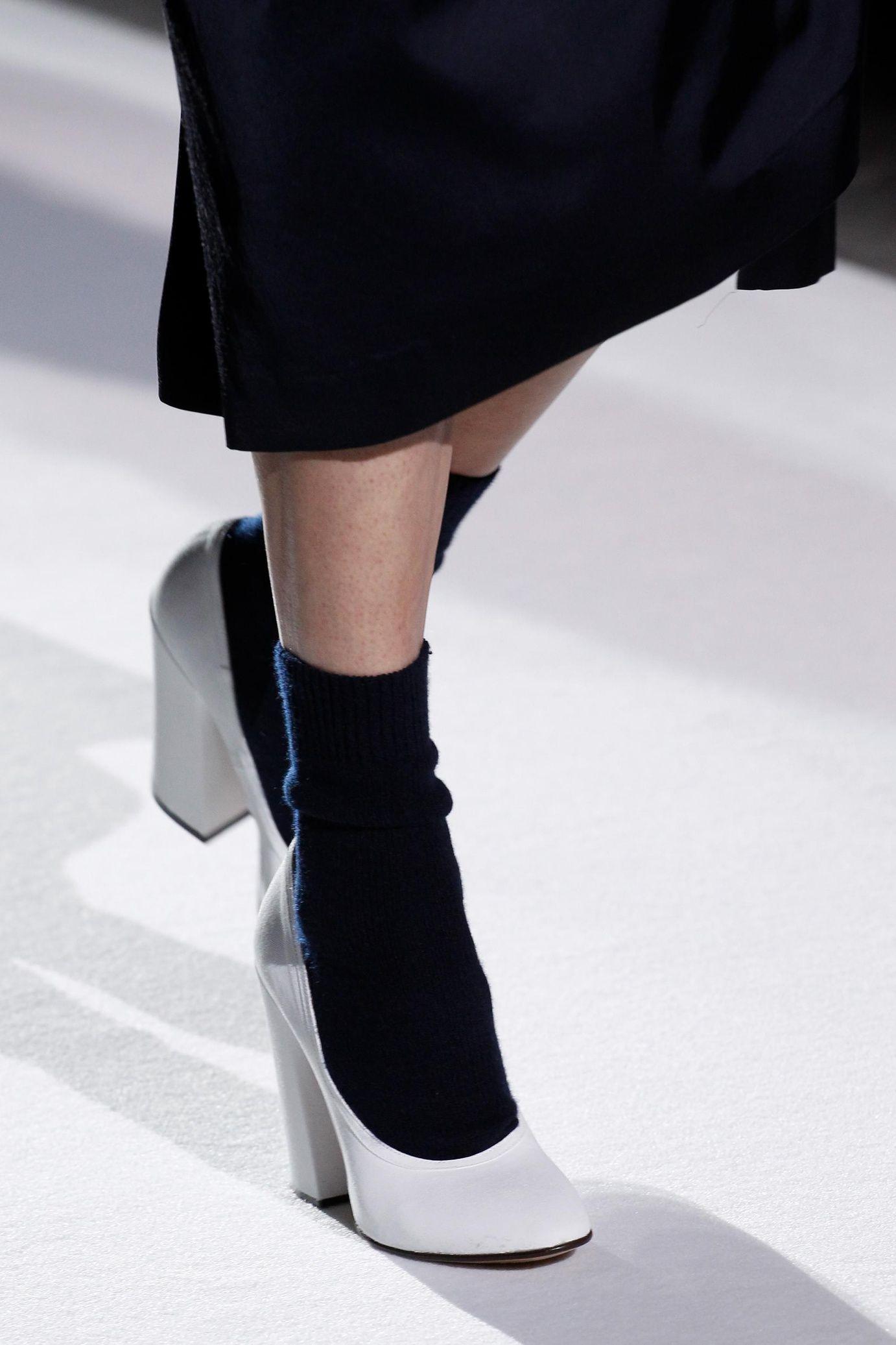 Туфли 2018 на устойчивом каблуке