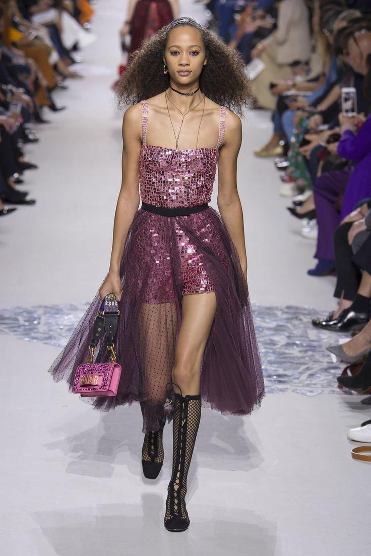 Christian Dior весна лето 2018 вечернее платье
