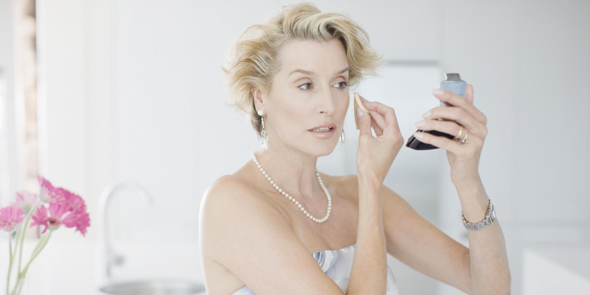 Возрастной макияж вечерний