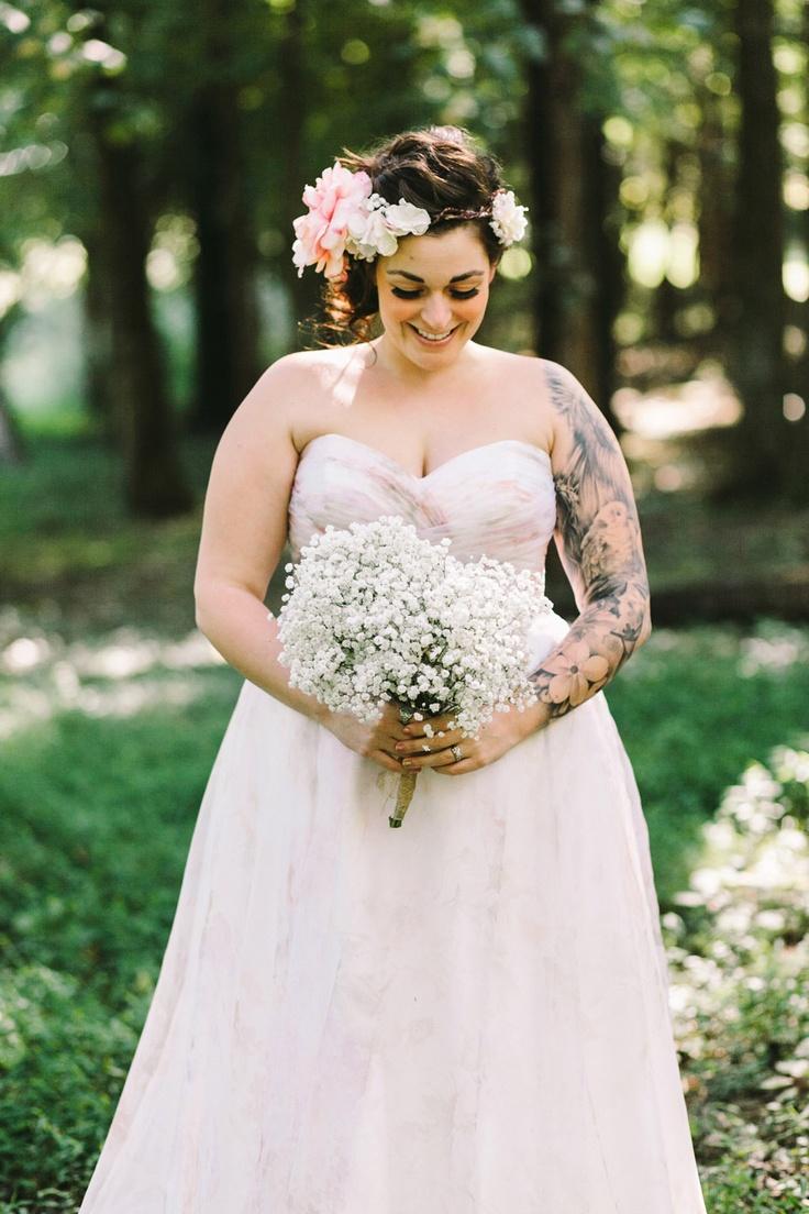 Свадебное платье для полных весеннее
