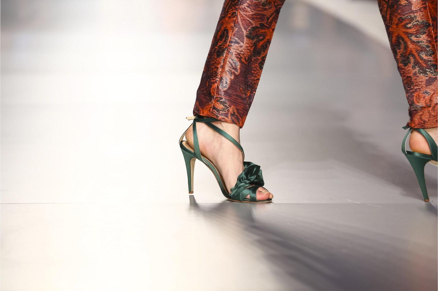 Туфли 2018 зеленые