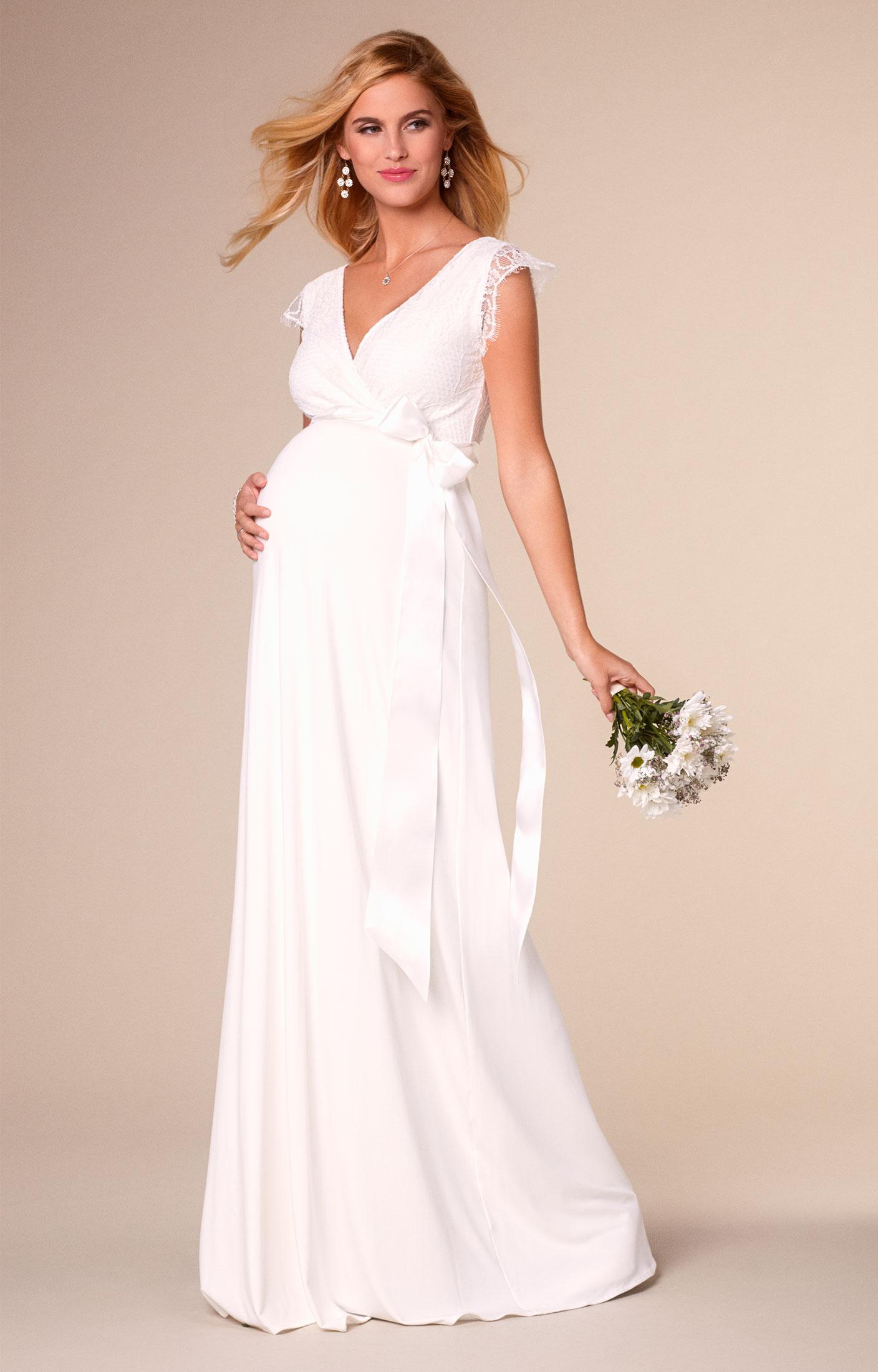 Свадебное платье для беременных в стиле ампир