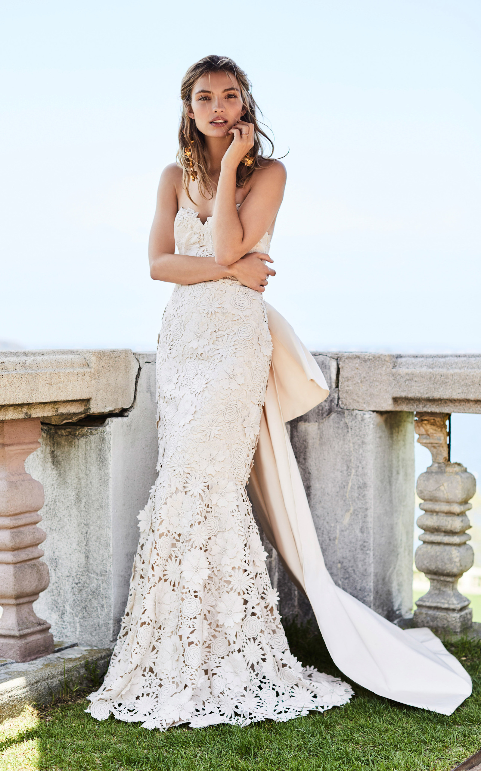 Свадебное платье рыбка бохо
