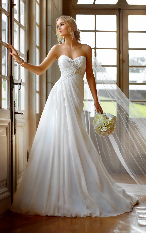 Свадебное платье для беременных бюстье