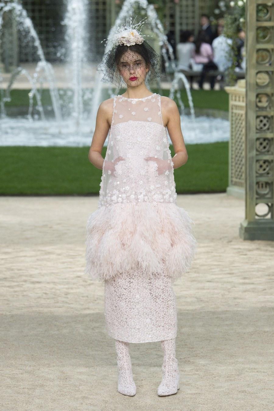 Свадебное платье для беременных Chanel