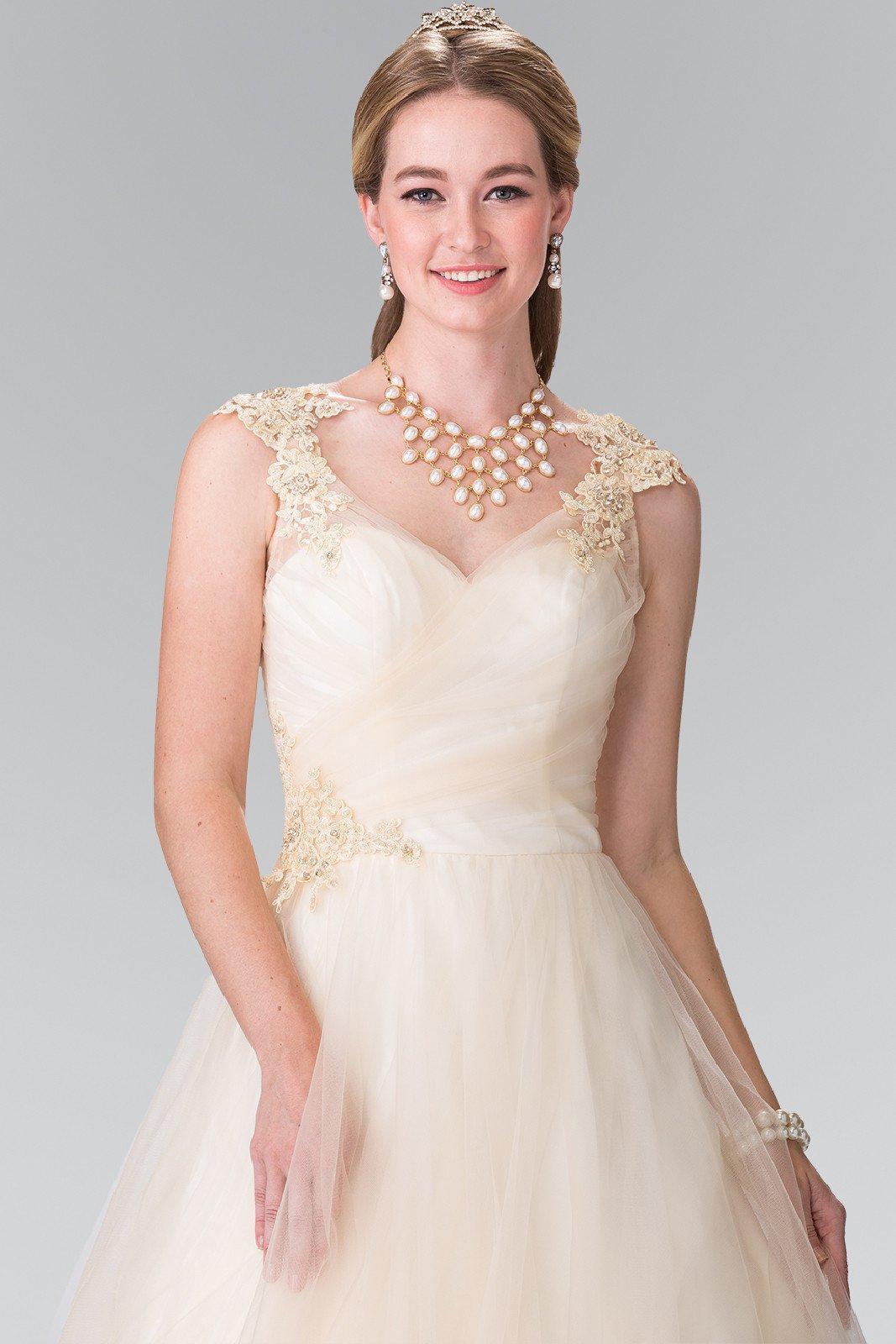 Свадебное платье айвори дизайн