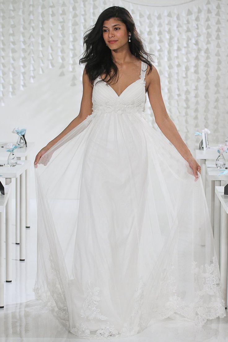 Свадебное платье для беременных двойное