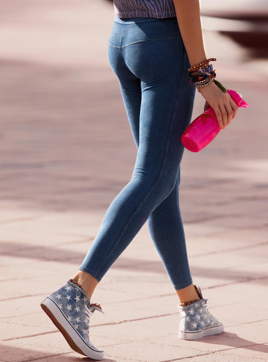 Легинсы пуш ап под джинсы