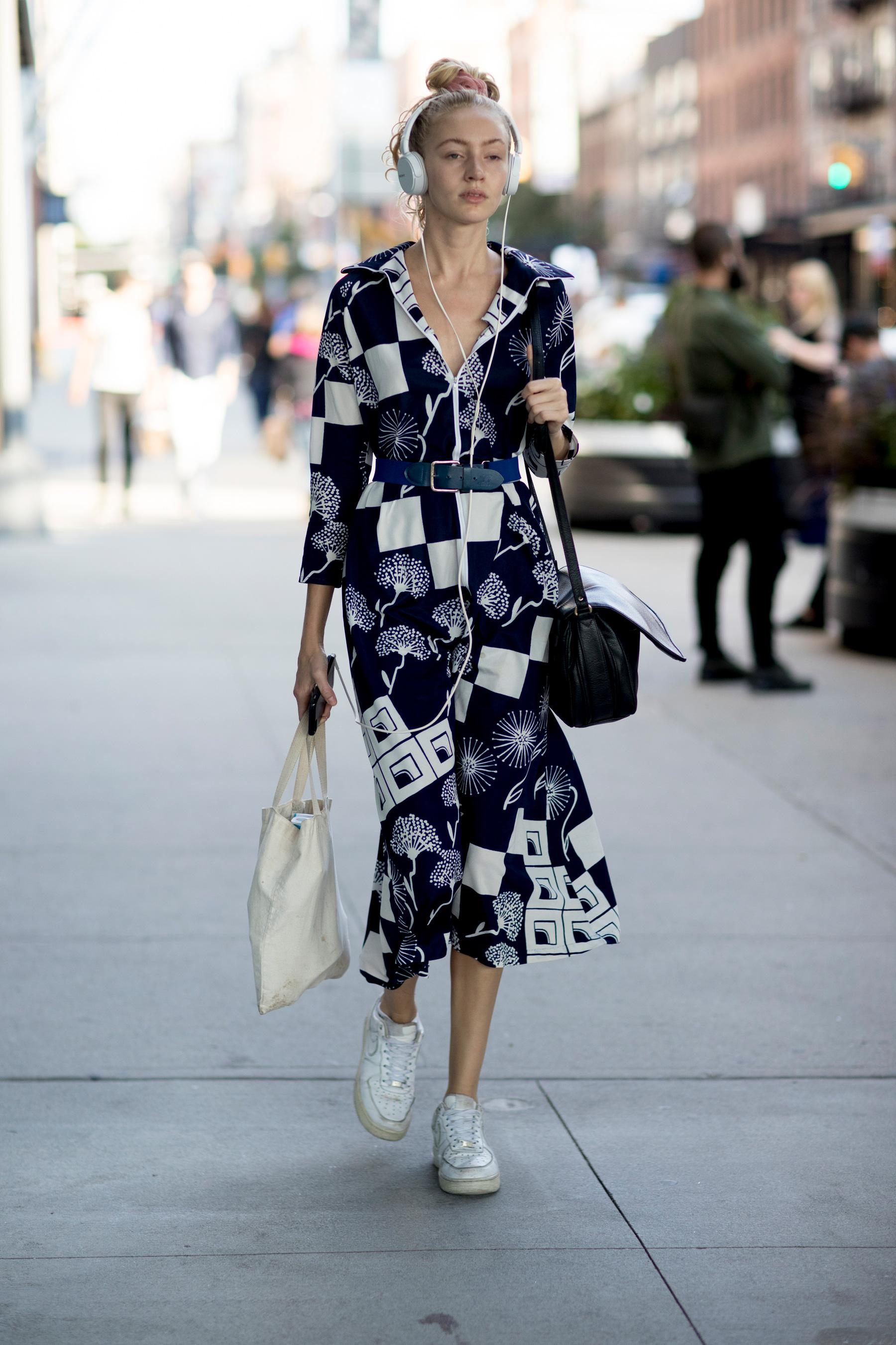 Повседневное платье геометрическое миди