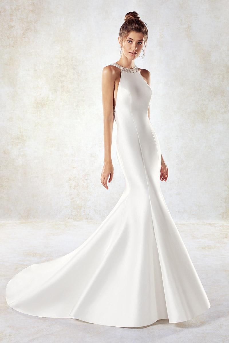 Свадебное платье рыбка в греческом стиле