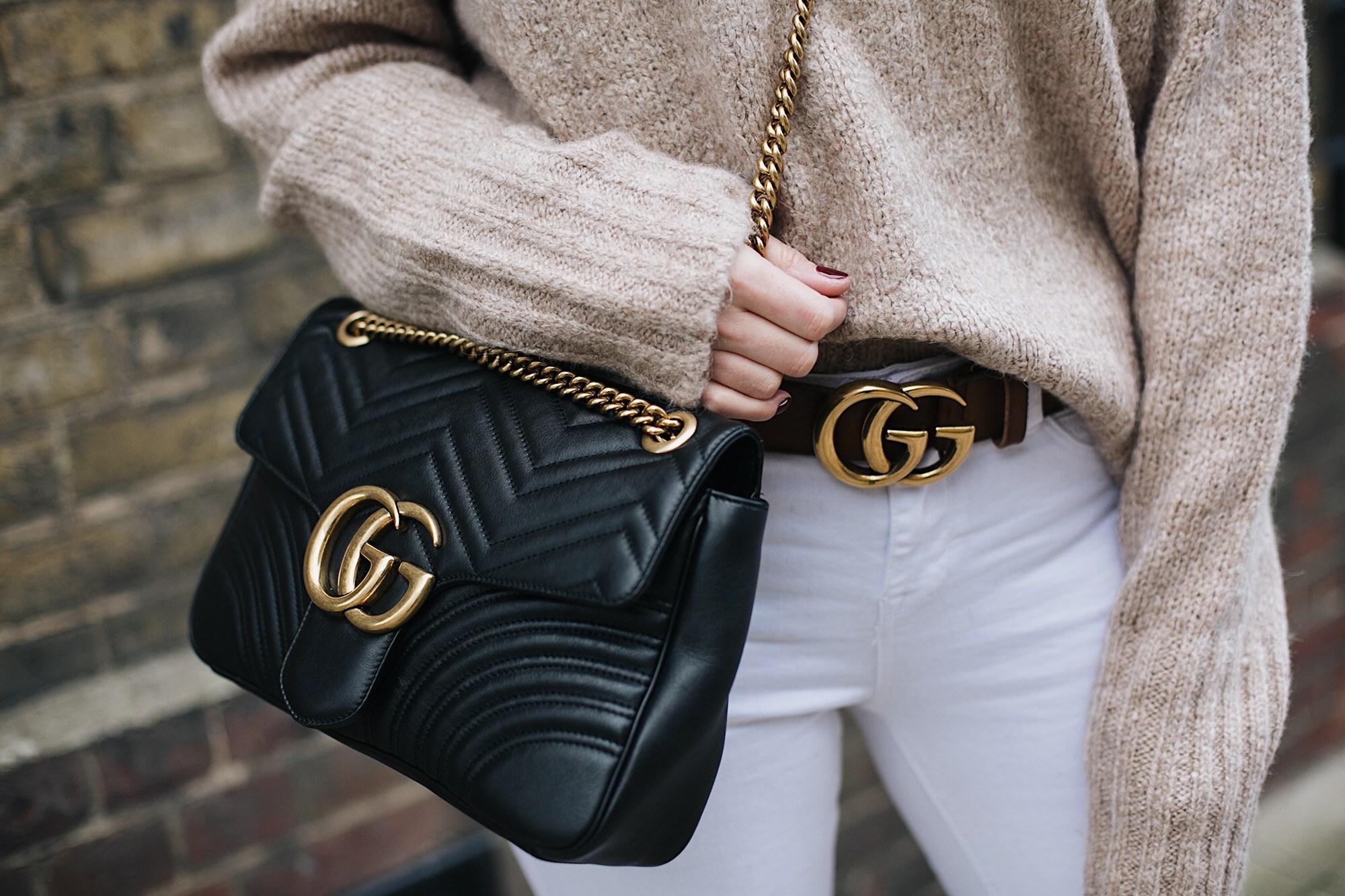 Клатч кожаный Gucci