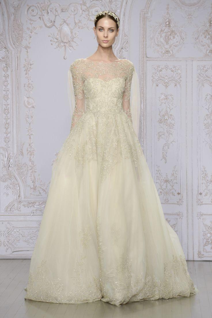 Свадебное платье айвори с кристаллами