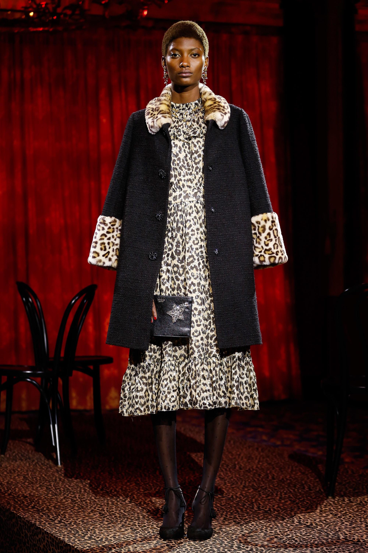 Платье леопардовое миди