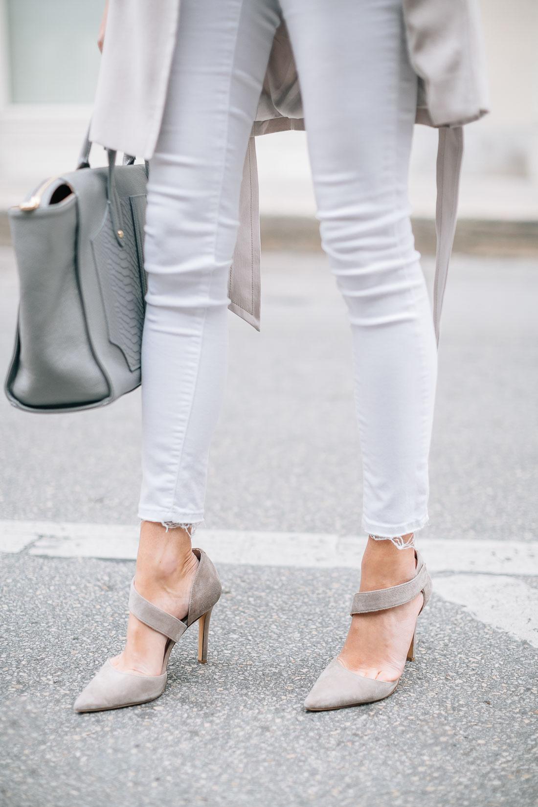 Белые туфли на каблуке под джинсы фото считаю, что
