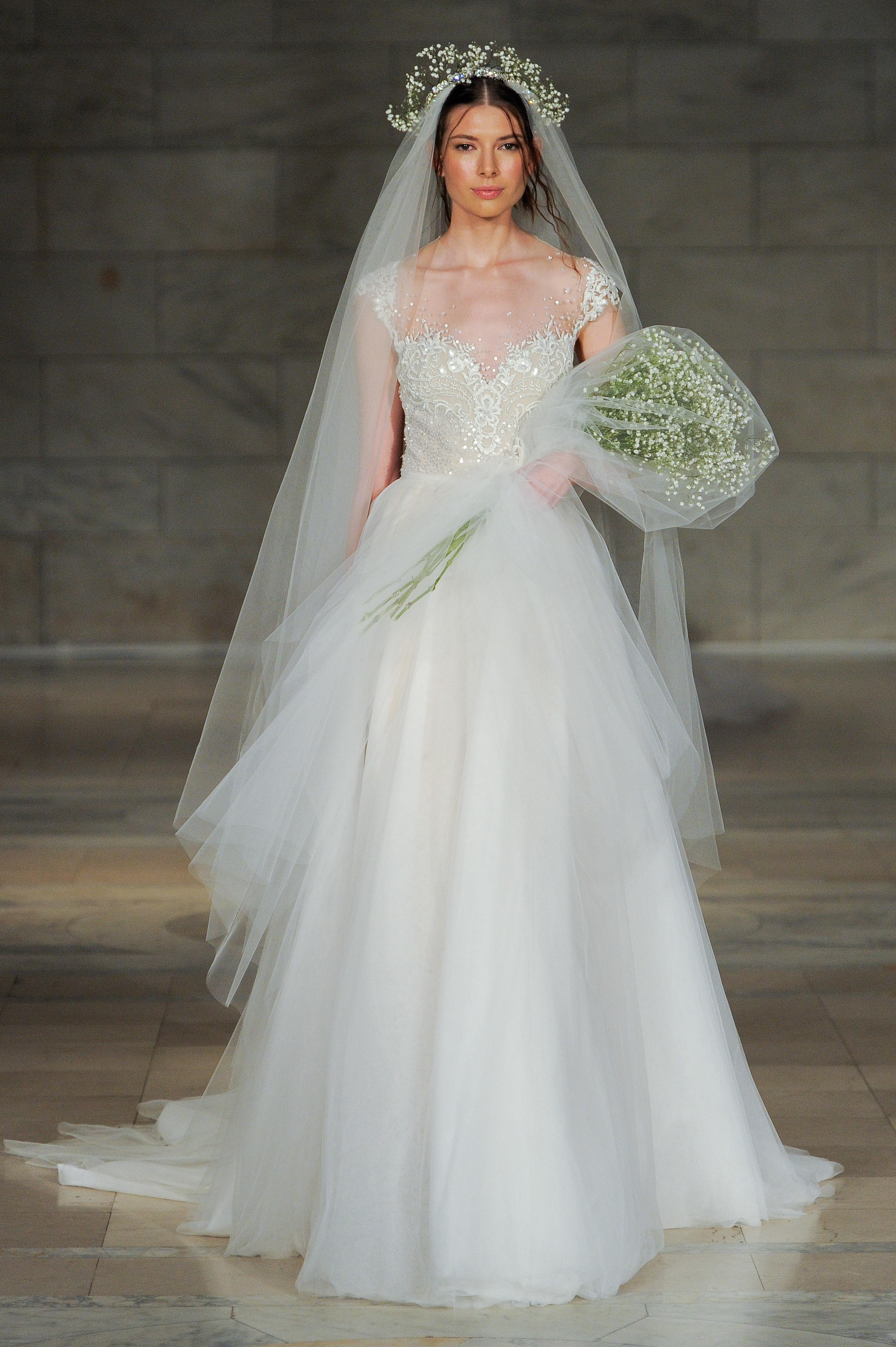 Свадебное платье айвори нежное