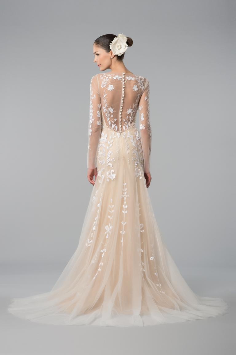 Свадебное платье айвори оригинальное