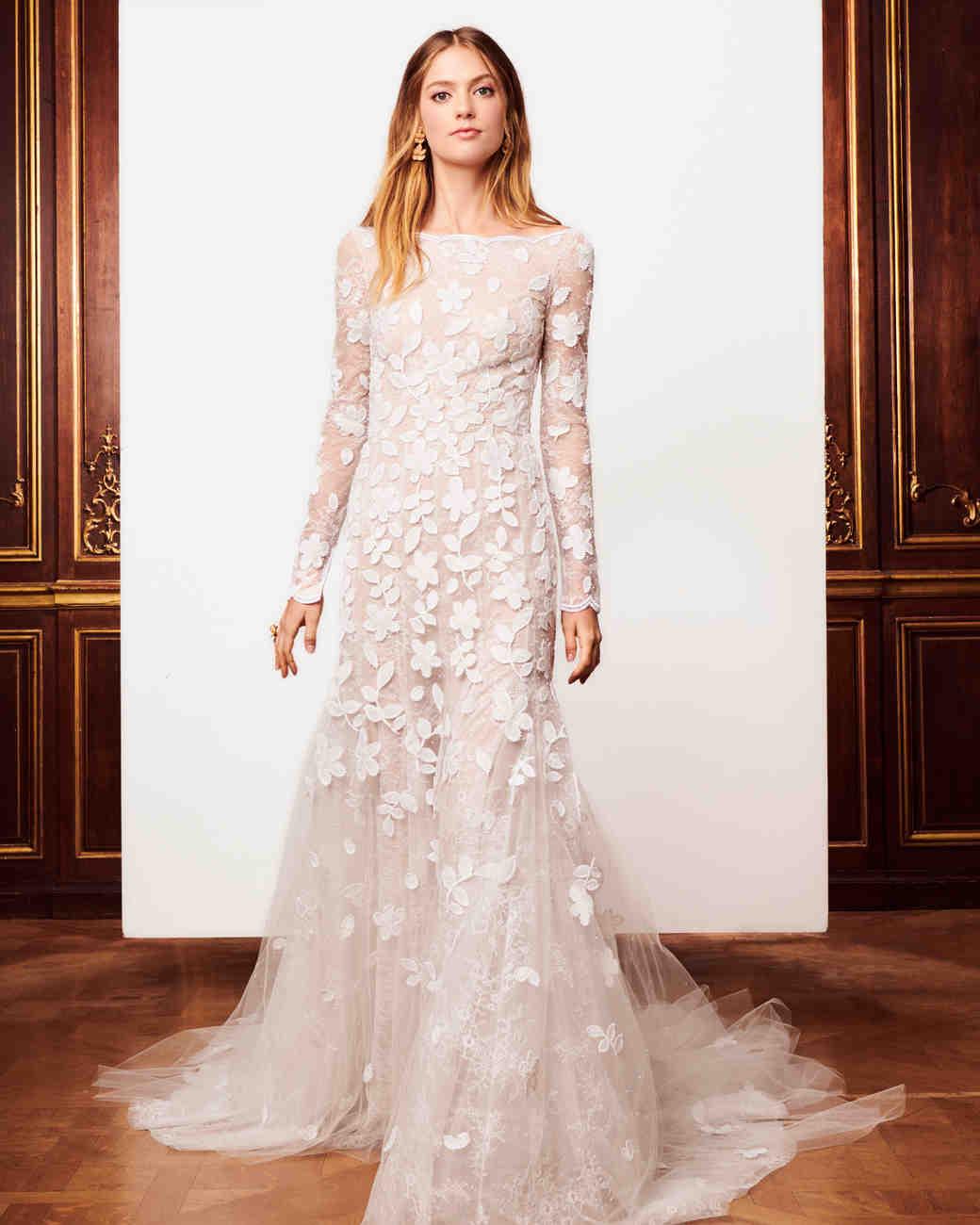 Свадебное платье айвори осень 2018