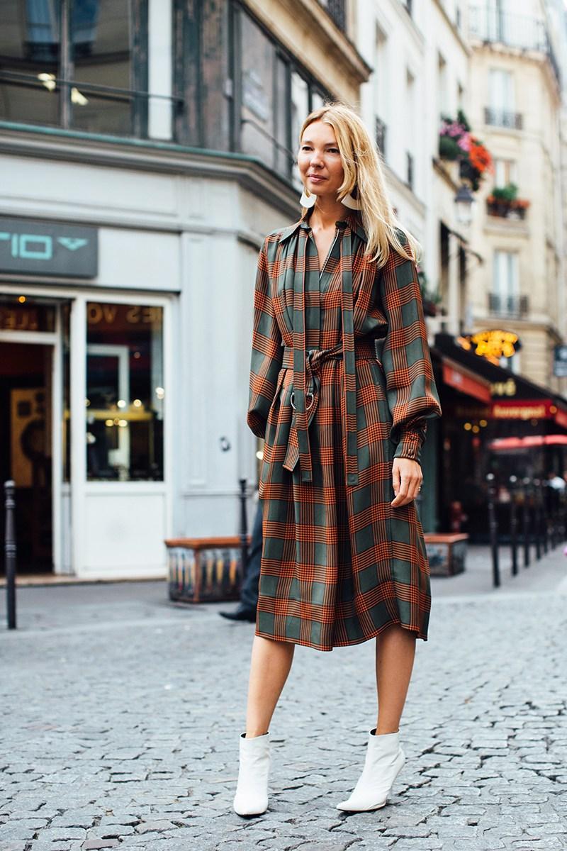 Повседневное платье с поясом