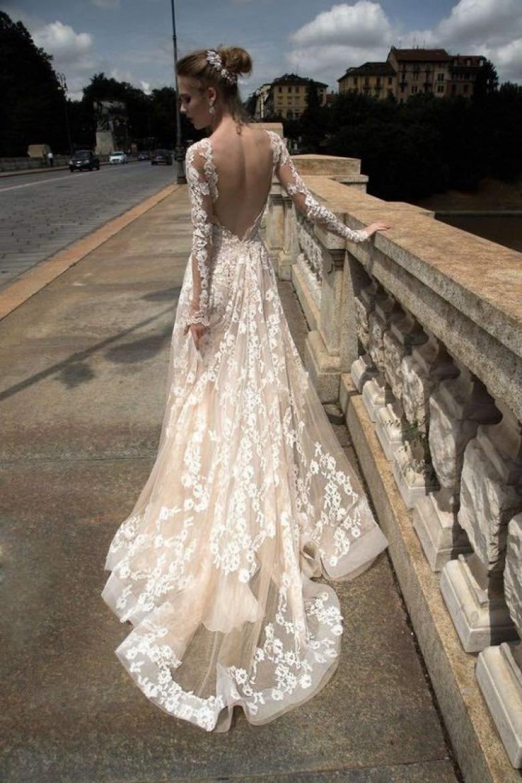 Свадебное платье айвори прозрачное