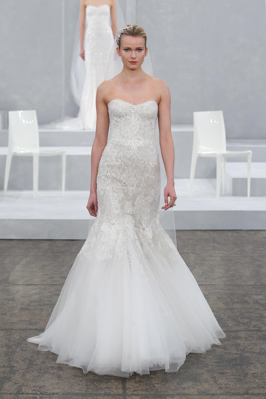 Свадебное платье рыбка со стразами