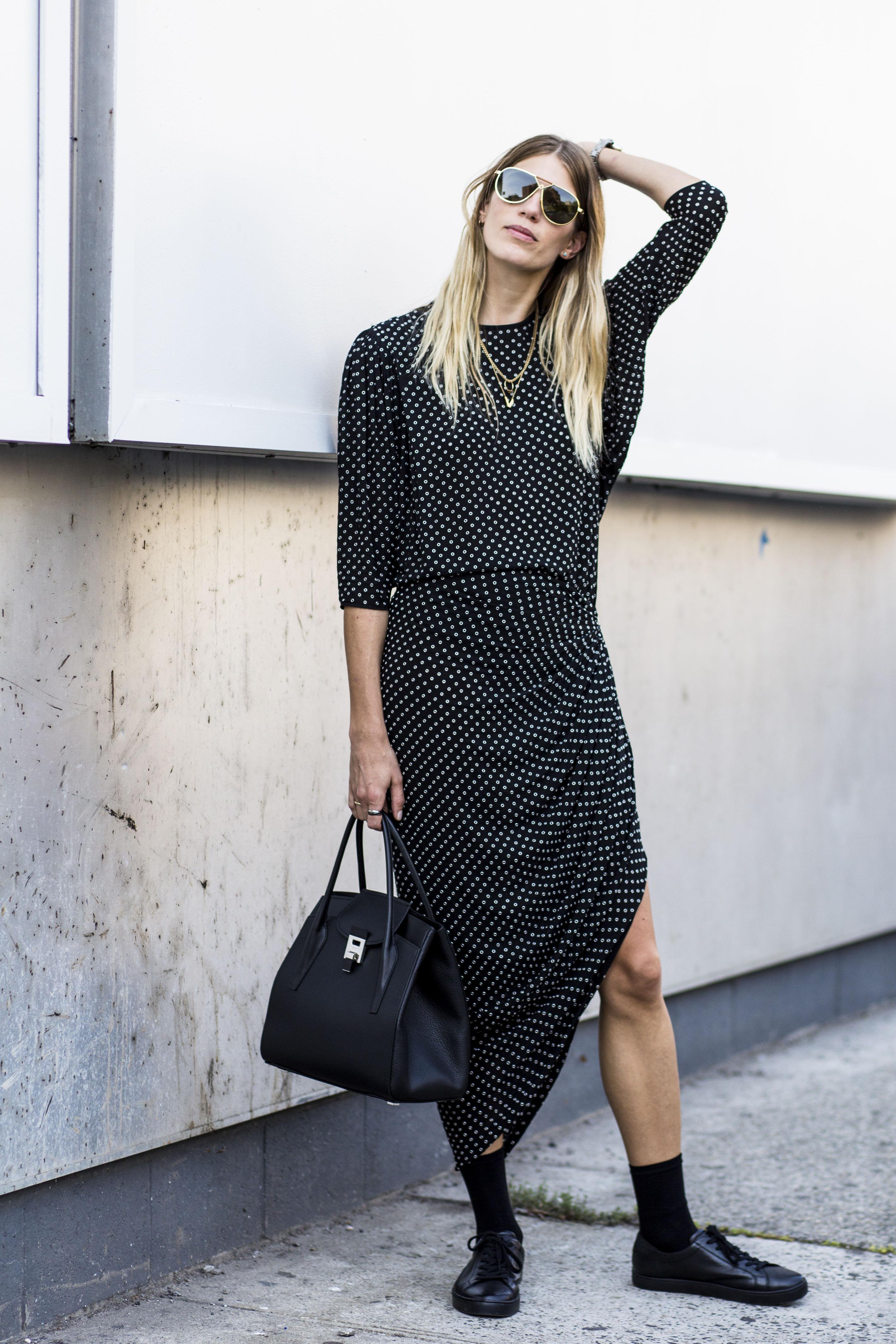 Повседневное платье свободное