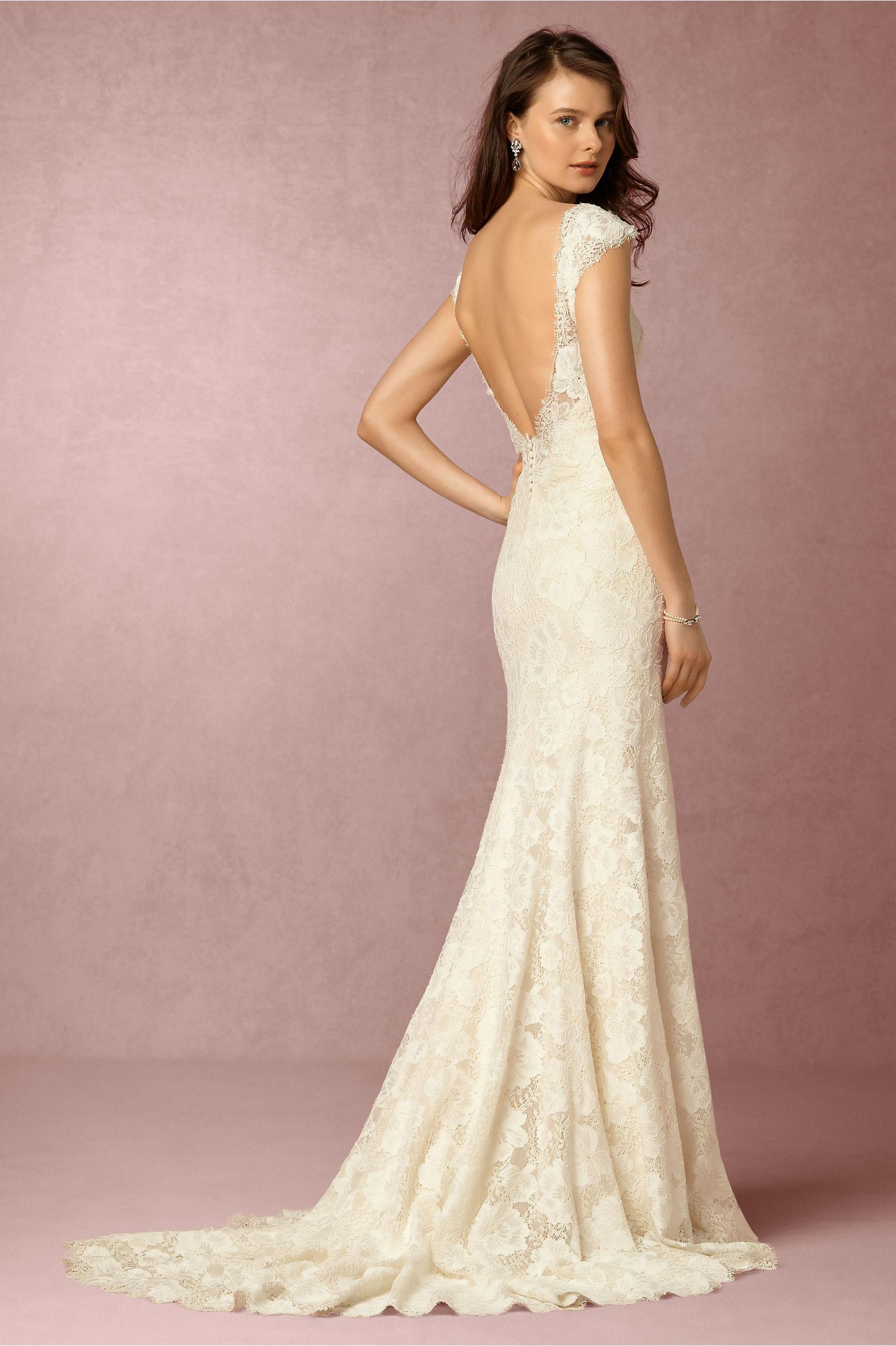 Свадебное платье айвори тона