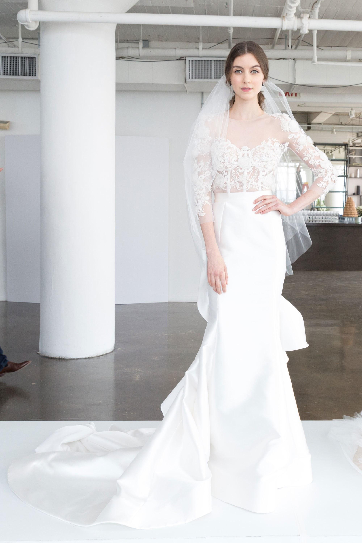Свадебное платье рыбка тренды