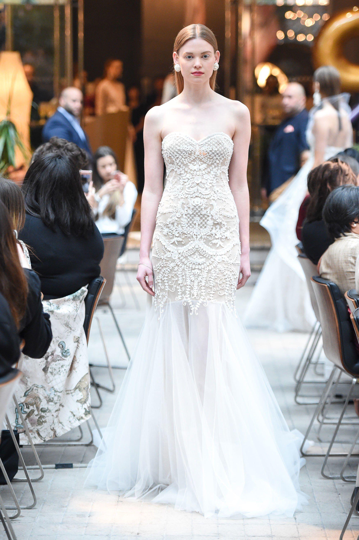 Свадебное платье рыбка из тюля