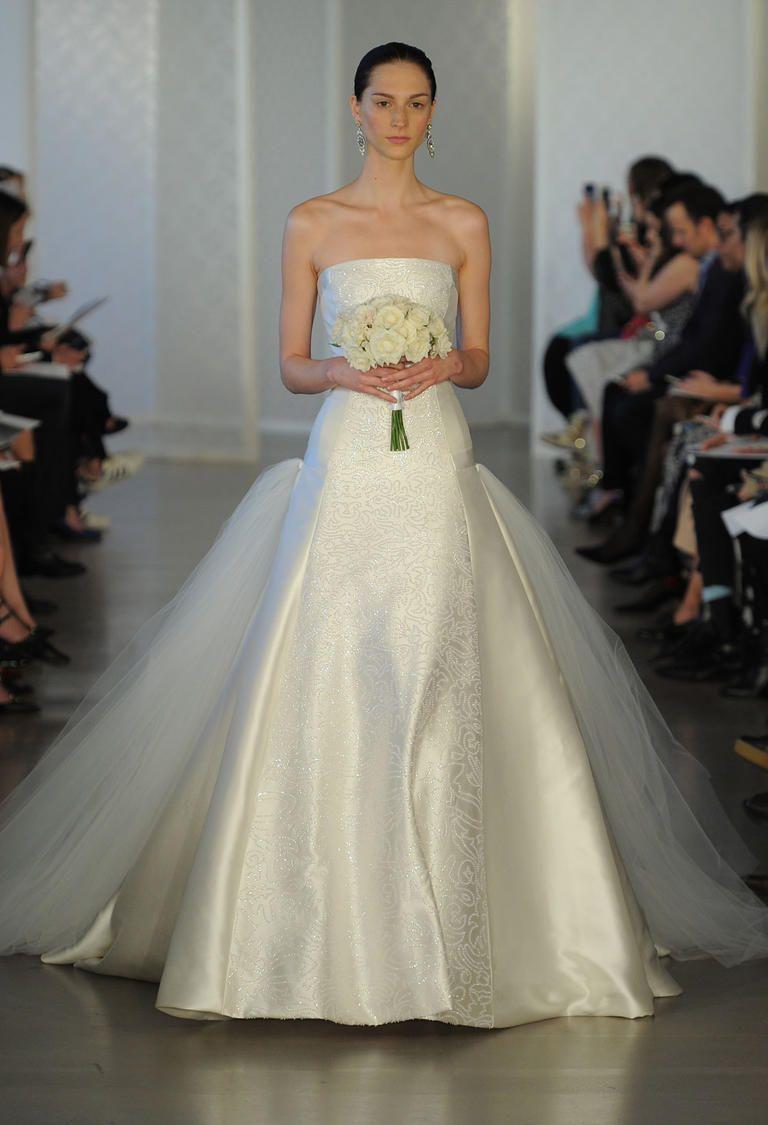 Свадебное платье айвори с узором