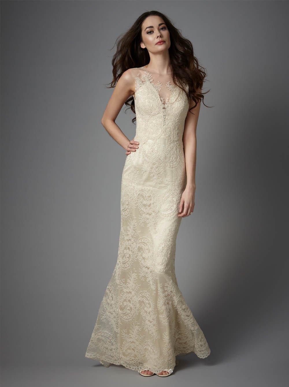 Свадебное платье айвори варианты