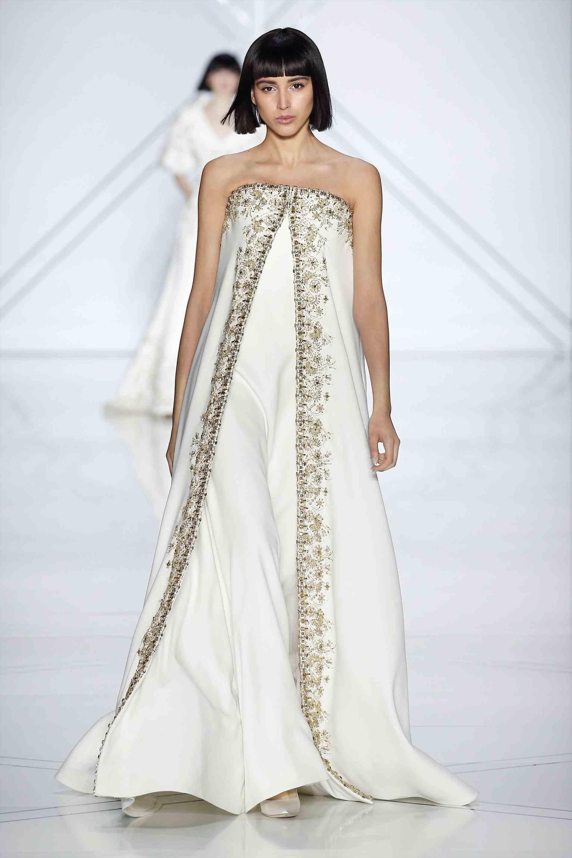 Свадебное платье для беременных с вышивкой