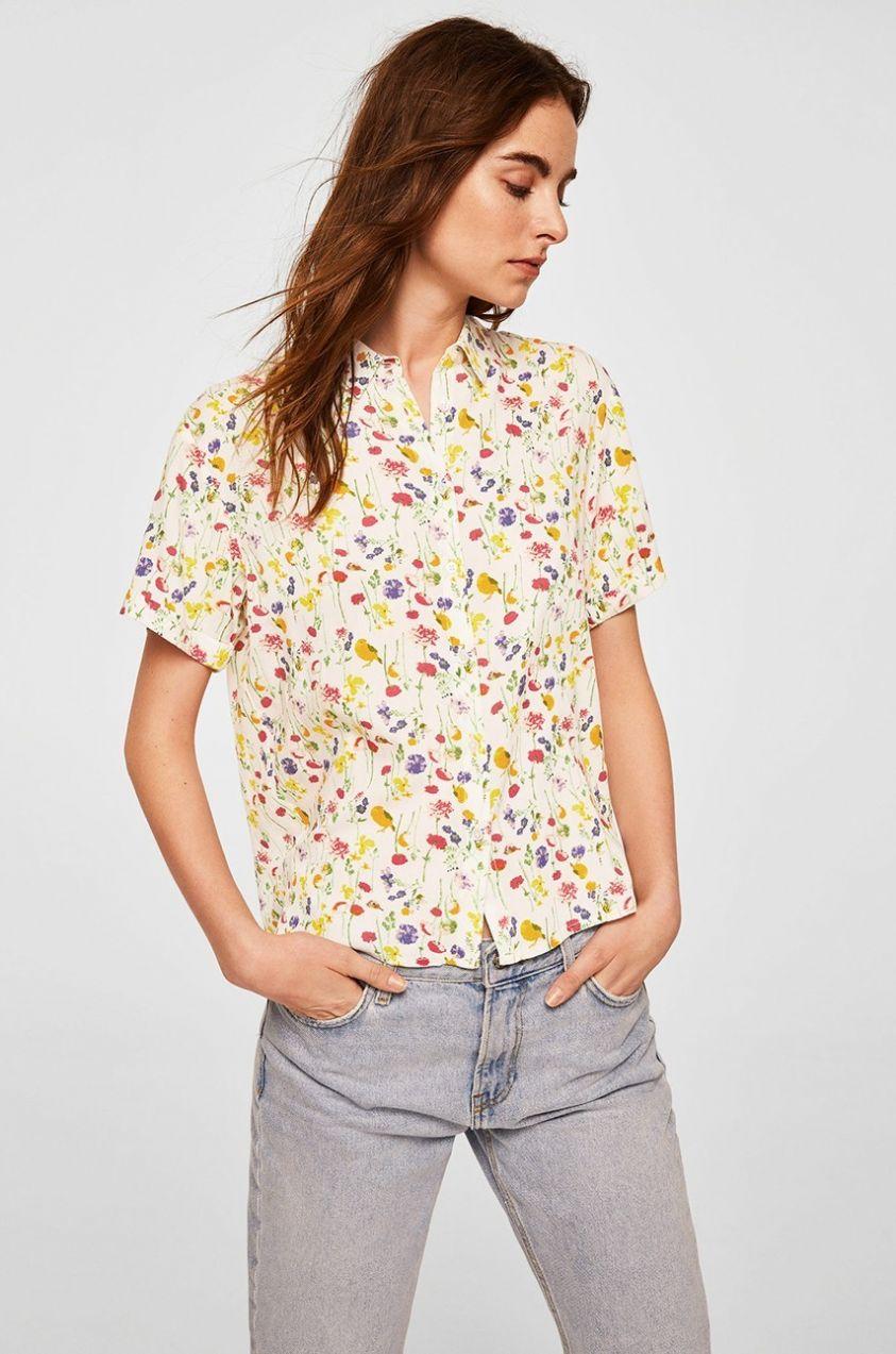 Блузка с коротким рукавом 2018