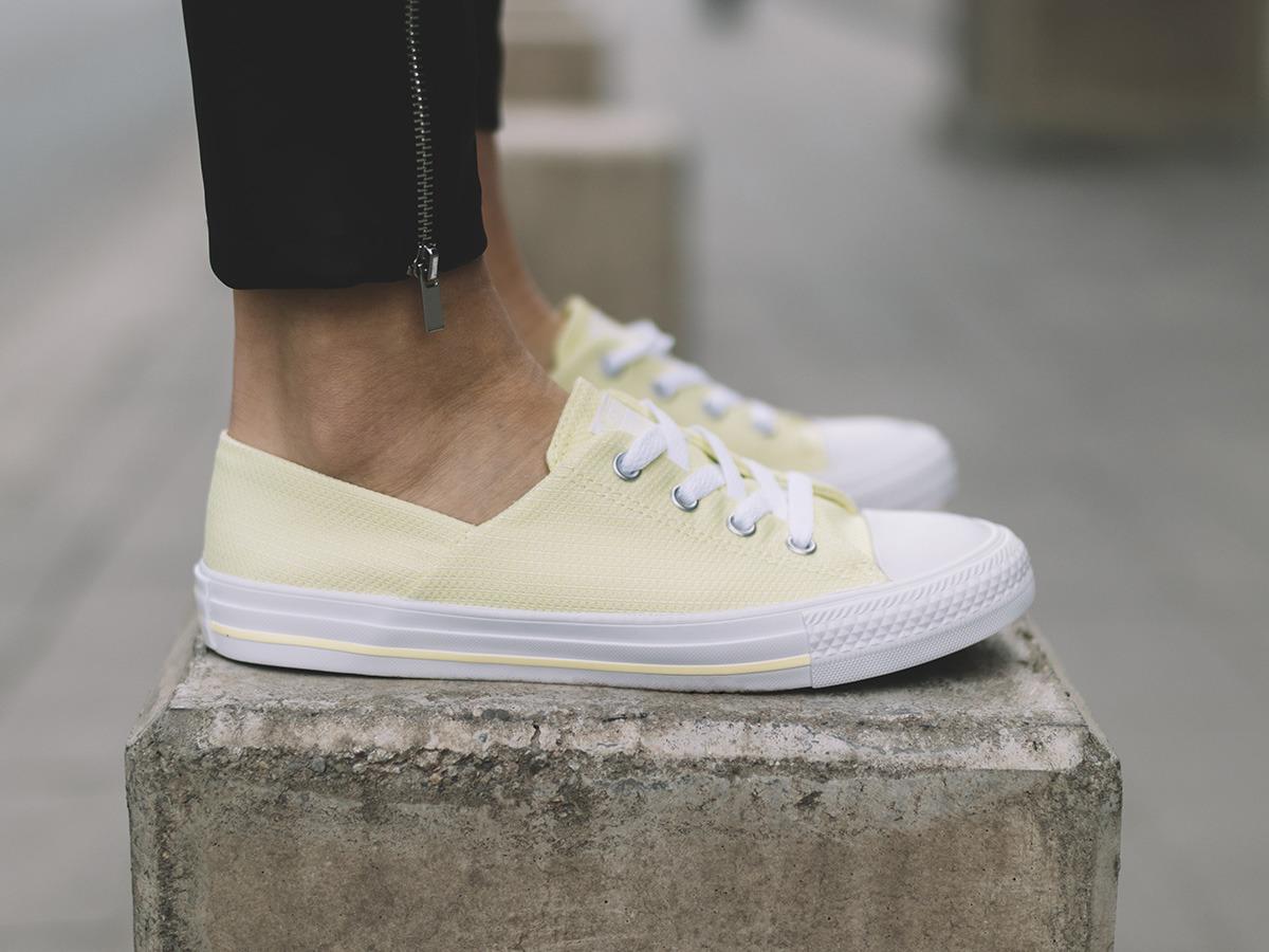 Кеды женские Converse желтые