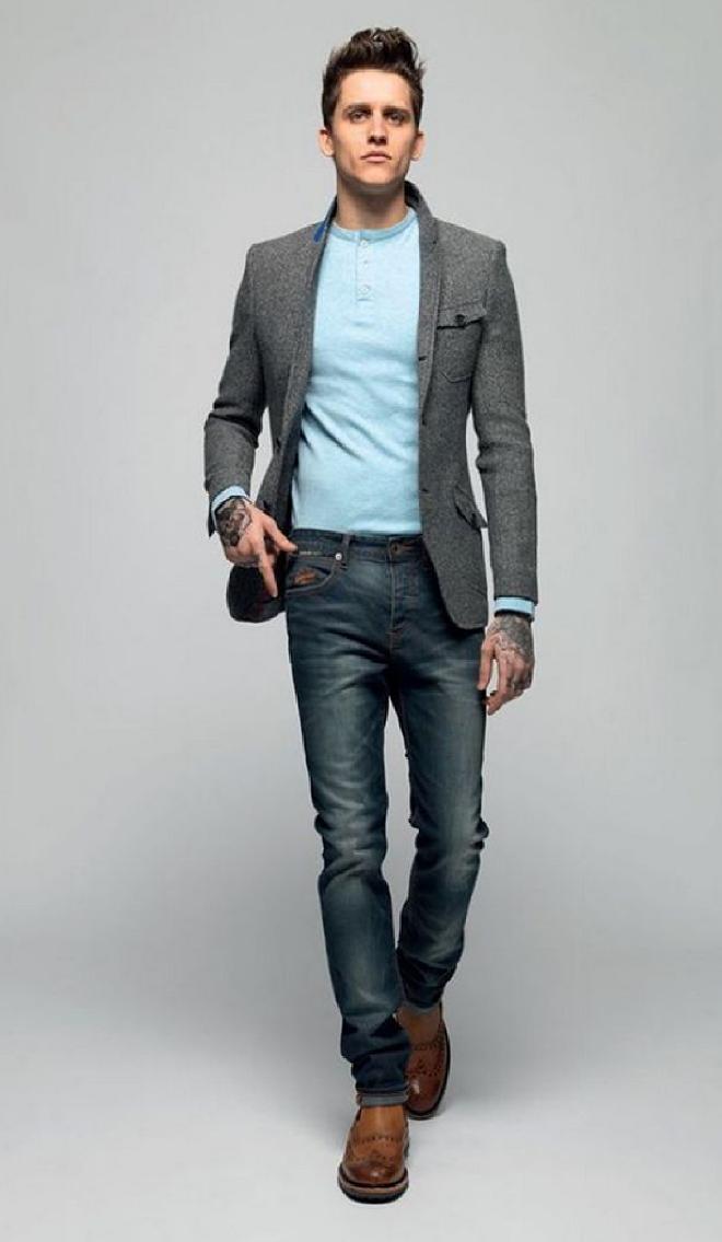пиджак и джинсы сочетание мужские фото создания рисунка наметьте