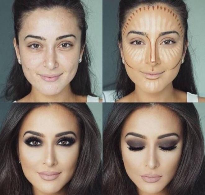 секреты макияжа от визажистов пошагово фото мне позвонил