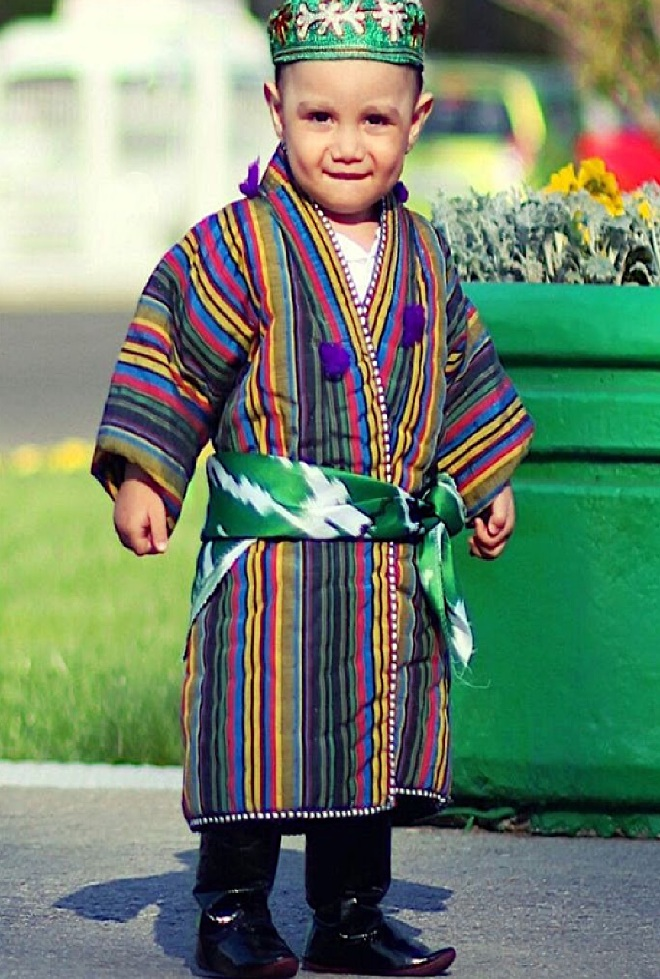 Национальный костюм узбечки картинки кухонные
