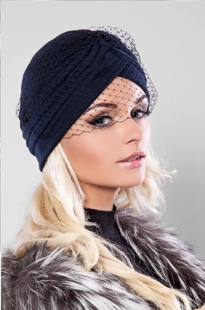 вязаная шапка чалма тюрбан на голову как связать шапку чалму