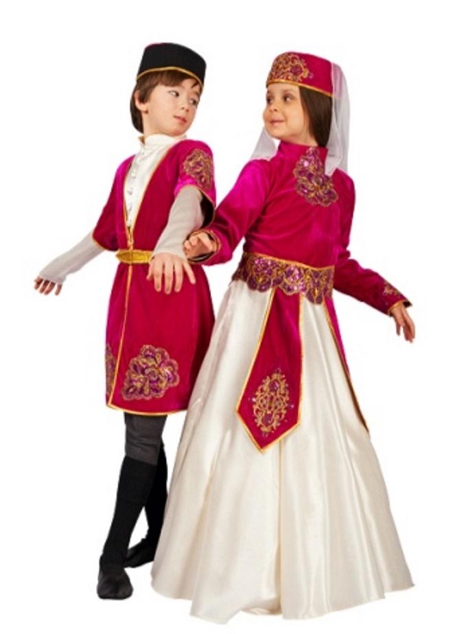 Армянские костюмы в картинках для детей