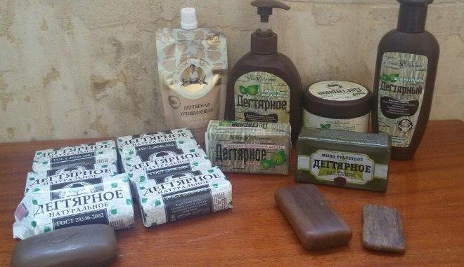 Дегтярное мыло и берёзовый дёготь — польза, дарованная природой