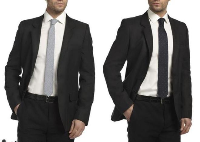 вырезал них длина галстука должна быть фото тут как