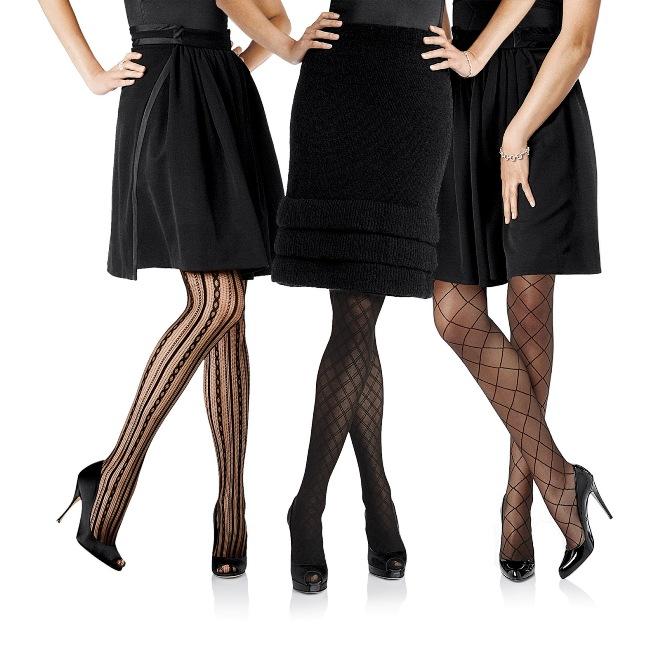 Какие Капронки Одеть Под Черное Платье