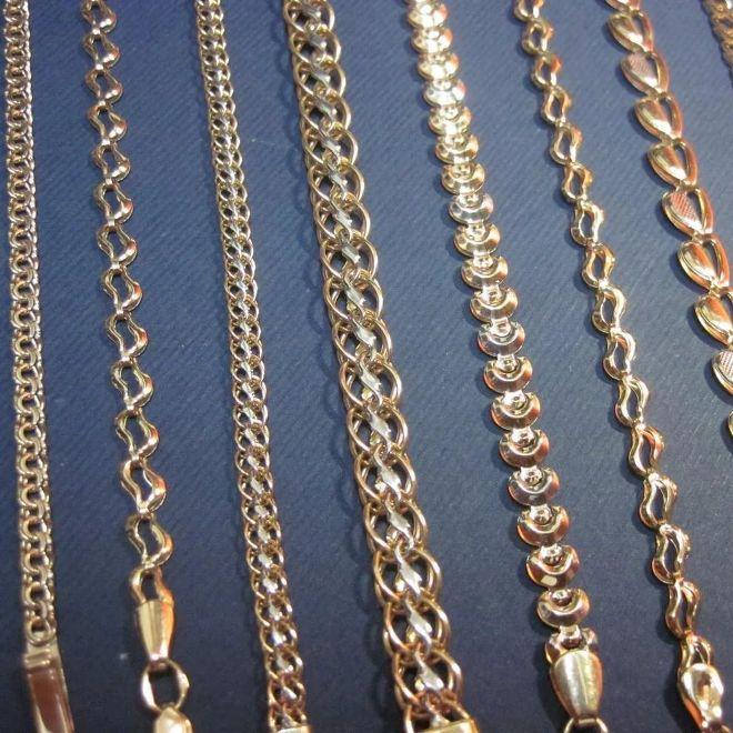 золотые цепочки женские фото плетение имеют грубозернистую структуру