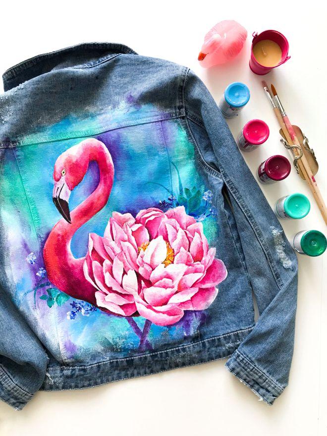 Красивые картинки для рисования на одежде