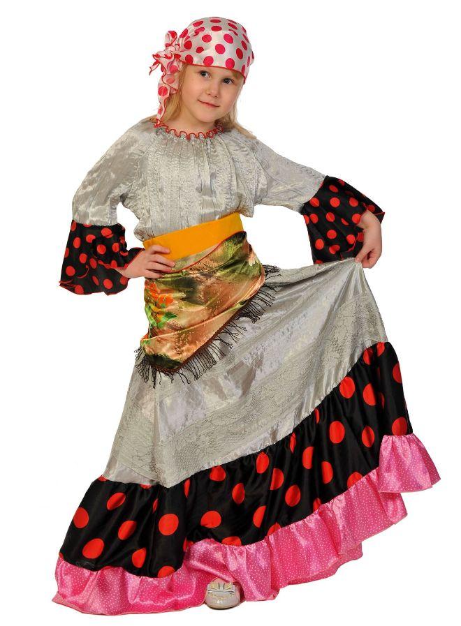 Цыганский костюм для девочки