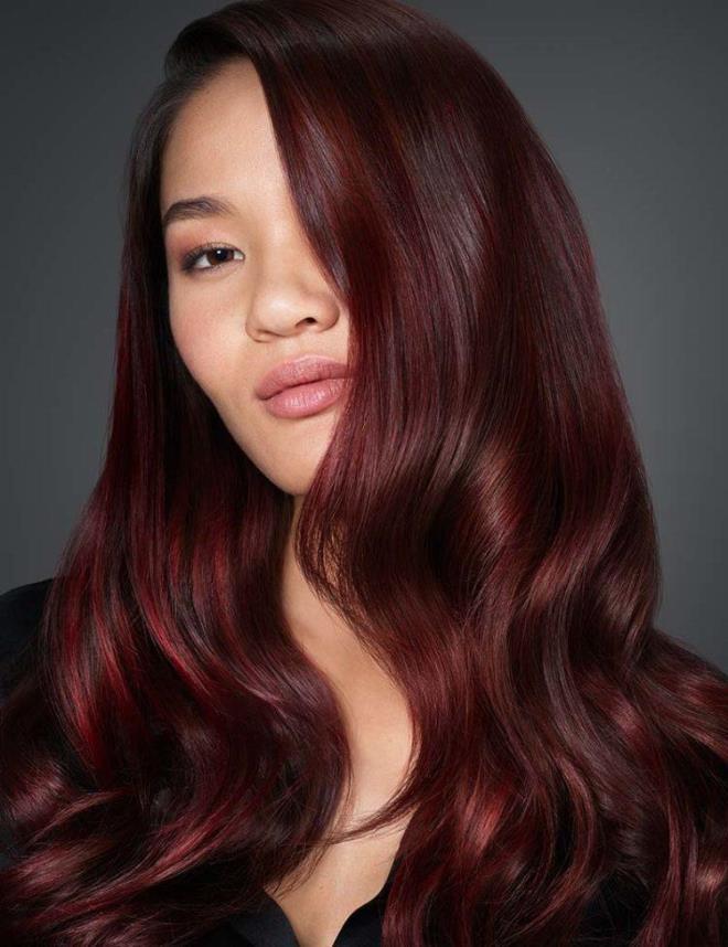 виду картинки коричнево красные волосы поражает