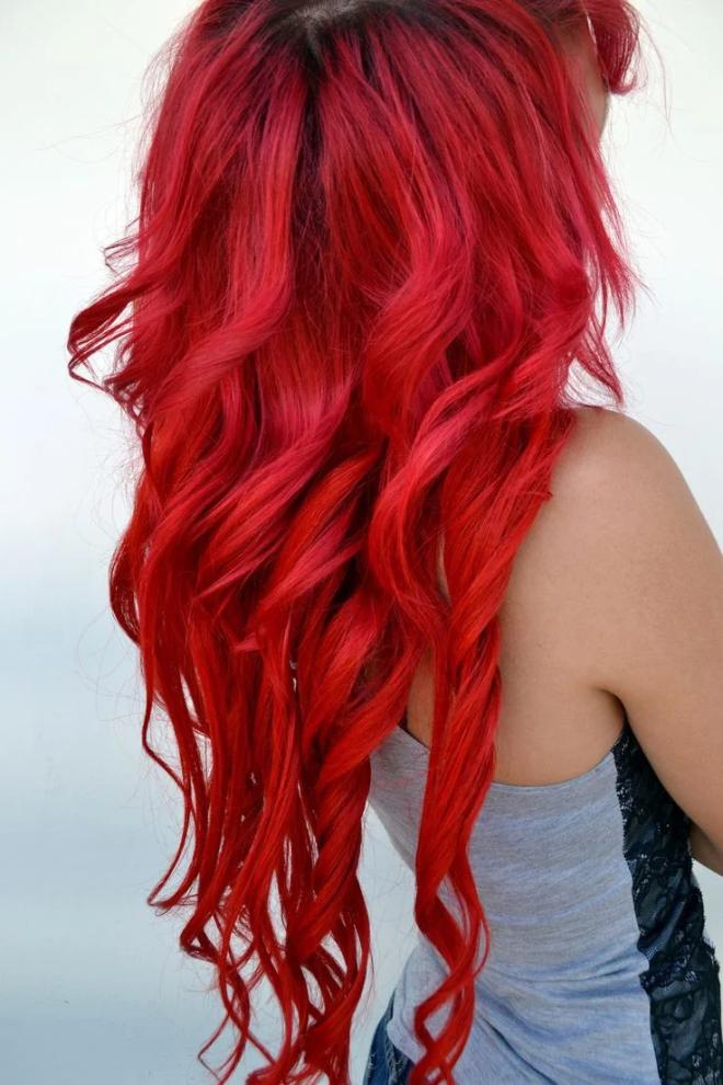 рассаду волосы красного цвета картинки веловыездом педагоги показывают
