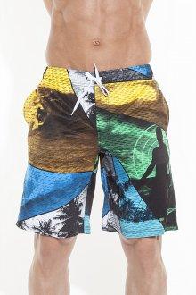 Разноцветные яркие пляжные мужские шорты