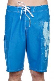Сине-голубые пляжные мужские шорты
