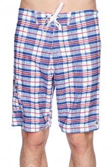 Клетчатые пляжные мужские шорты